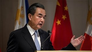 Wang Yi says South China Sea talks are 'on the right track'