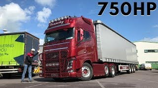 VOLVO FH16 750 - Full Tour & Test Drive - It's a beast!