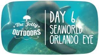 day 6 seaworld idrive 360 orlando florida 2016 holiday vlog video