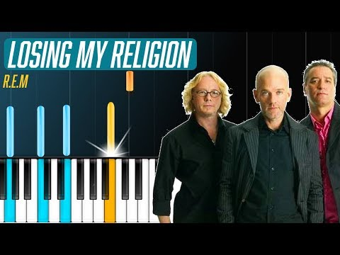 "R.E.M - ""Losing My Religion"" Piano Tutorial - Chords - How To Play - Cover"