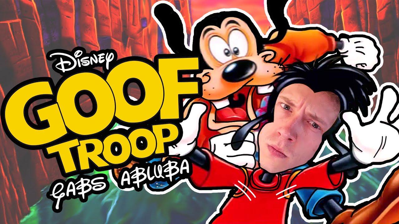 O Jogo do Pateta - Goof Troop (super nintendo) Gameplay Gabs Abluba