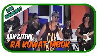 RA KUWAT MBOK - ARIF CITENX [ OFFICIAL KARAOKE MUSIC VIDEO ]