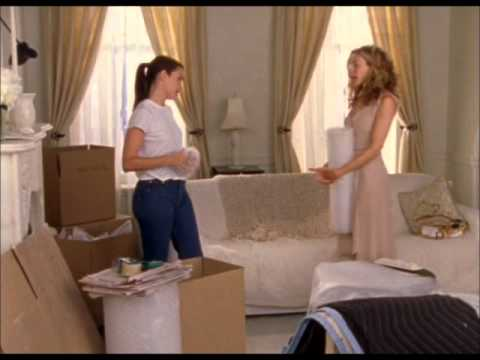 Charlotte catches Carrie cheating with Big