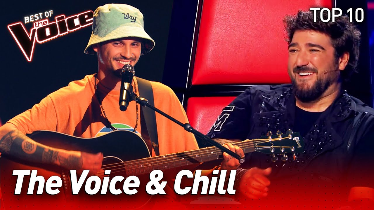 The Voice & Chill: Relaxing Blind Auditions | Top 10
