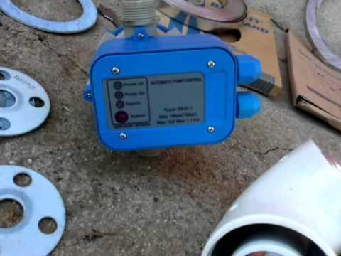 Controlador de presi n para bomba de agua youtube for Bombas de agua para estanques de jardin