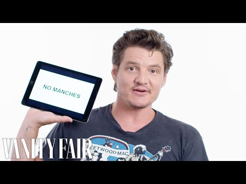 Pedro Pascal Teaches You Spanglish Slang  Vanity Fair