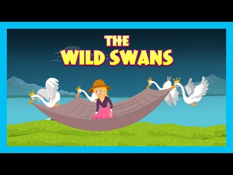 WILD SWAN || KIDS STORIES - ANIMATED STORIES FOR KIDS || MORAL STORIES - TIA AND TOFU STORYTELLING