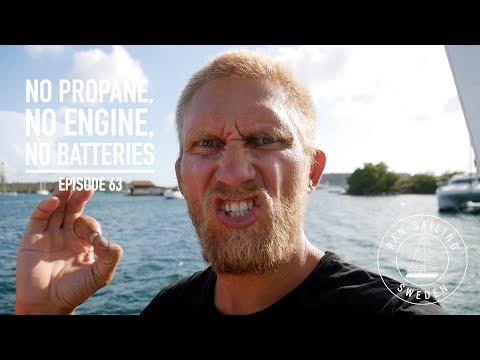 No propane, No engine, No batteries - Ep. 63 RAN Sailing