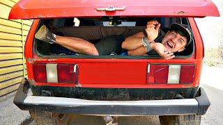Сбежать из багажника говорящей нивы за 60 минут чтобы выжить