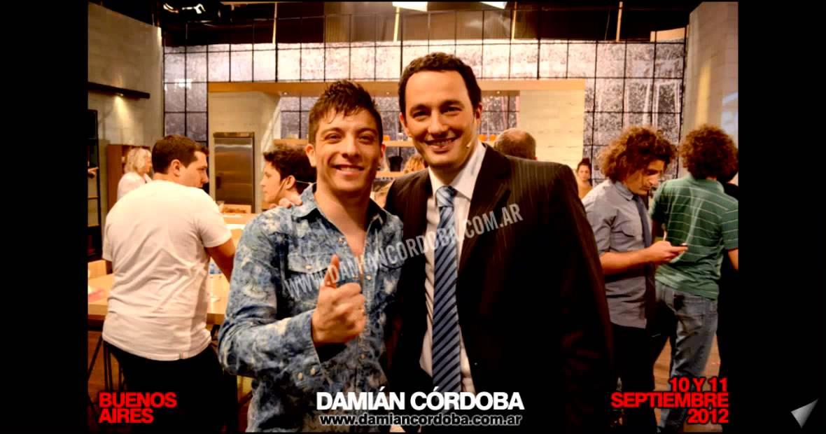 Damian Cordoba: Gira Promocional En La Tv De Bs As