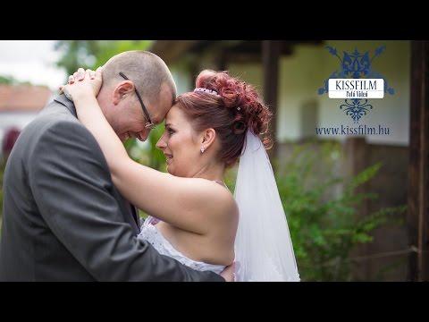 Renáta és Stuart esküvői felvételei  Kisvárdán (Parish Bull)