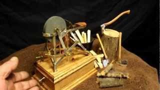 Miniature Solenoid Engine Wheel Grinder