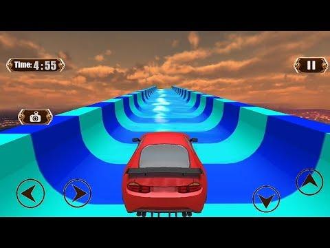 Car Water Slide Uphill Racing Adventure Game || Car Racing Game Android Gameplay || Car Games