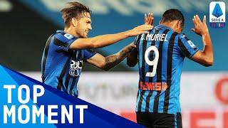Luis Muriel Scores Another Stunner to Seal Win! | Atalanta 2-0 Sampdoria | Top Moment | Serie A TIM