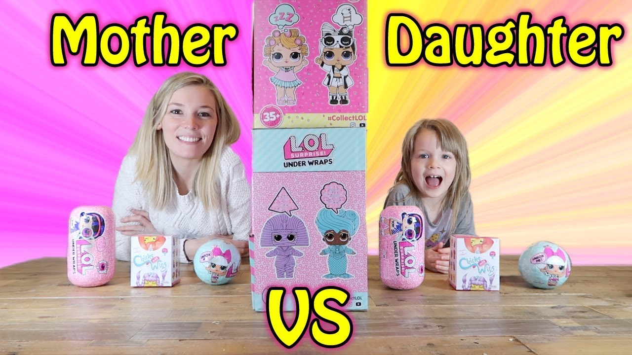 Twin Telepathy Toy Unboxing Challenge Mom Vs Daughter