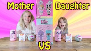 Twin Telepathy Toy Unboxing Challenge! Mom Vs. Daughter - L.o.l. Surprise, Fingerlings + More!