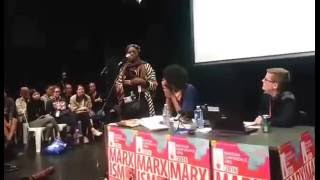 "Gambar cover Adriana Bito presents her book ""From Personal Reflexion..."" to BlackLivesMatter at Marxism 2016"
