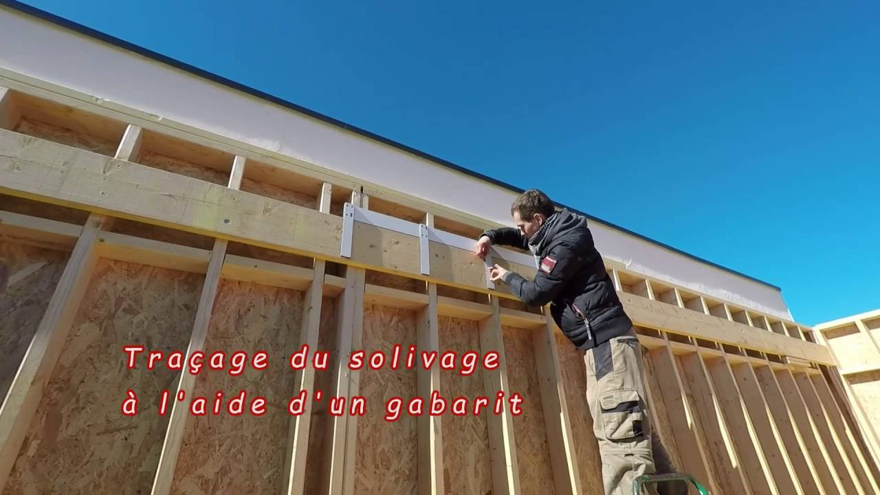 Maison ossature bois construction film mbmr youtube for Bardage maison ossature bois