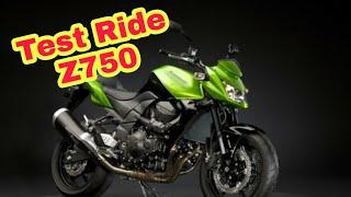 Test Ride : Kawasaki Z750