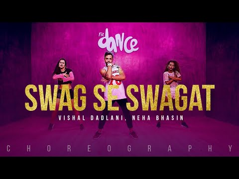 Swag Se Swagat Dance | Tiger Zinda Hai | Salman Khan | Katrina Kaif | Choreography FitDance Channel