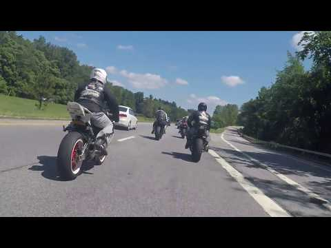 SSMC BREAKFAST RUN ____________ 07 Yamaha R1 vs BMW S1000RR