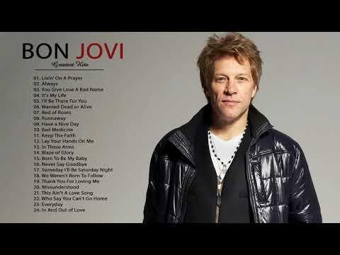 Bon Jovi Greatest Hits Full Album   Best Of Bon Jovi