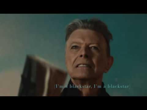 David Bowie - Blackstar ★ LYRIC VIDEO