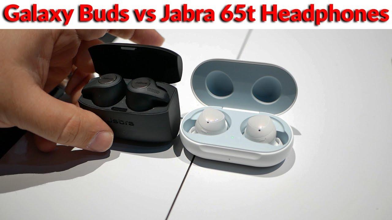 Samsung Galaxy Buds Vs Jabra 65t Elite Active What Will Be The Best True Wireless Headphones Youtube