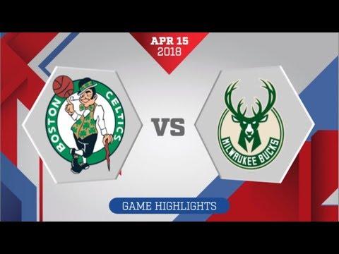 Milwaukee Bucks vs Boston Celtics Game 1: April 15, 2018