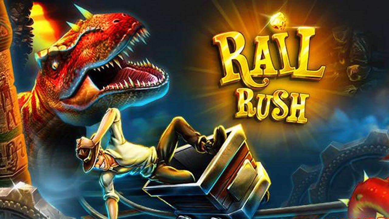 Rail Rush #6 - Jurassic Jungle / Dino Killer