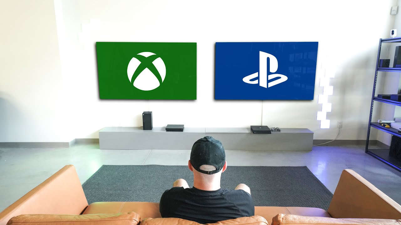 The Ultimate PlayStation vs Xbox Gaming Setup
