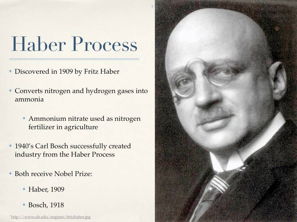 The Haber Process And Agricultural Nitrogen Pollution HD