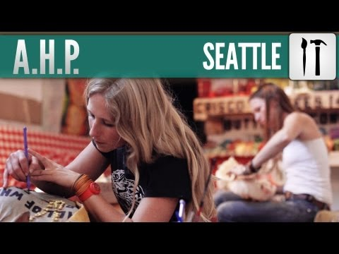 KeseyPollock - American Hipster Presents #32 (Seattle - Art)