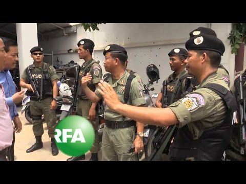 Cambodian Police Raid Opposition Headquarters