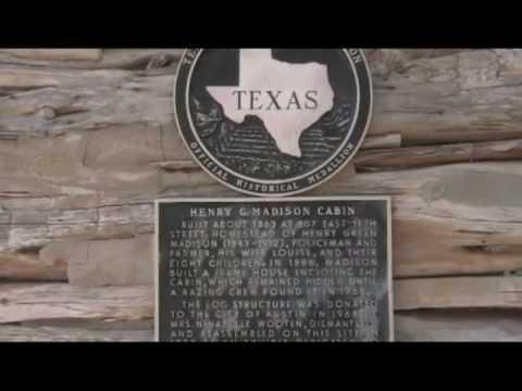 Austin, Texas Tourism : Austin Tourism: Madison Log Cabin
