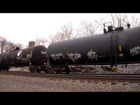 Eastbound ethanol or crude oil with NS 8067 as the leader