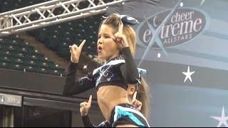 Cheer Extreme Glitter Penguins Level 3 Showcase 2014