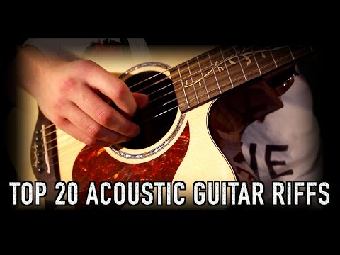 Top 20 Acoustic Guitar Riffs & Intros