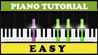 5 Very Easy Songs to Play on the Piano (Synthesia)