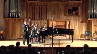 Schumann Sonata n° 2 OP.121, 2° Movimento, Sehr lebhaft