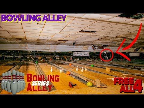 Exploring An Abandoned Chicago Bowling Alley (During Rain Storm)