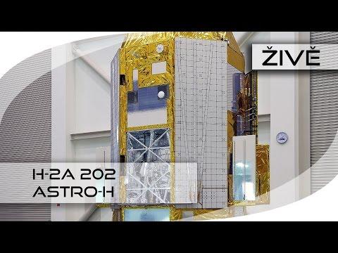 ŽIVĚ: H-2A 202 (Astro-H)