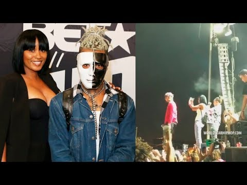LIL PUMP canta SAD! con la MAMÁ de XXXTENTACION y con SMOKEPURPP en CONCIERTO | BRAYAN TRAP