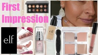 First Impression elf Cosmetics I Makeup im Test I Mamacobeauty