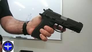 سلسلة استخدام المسدس ج9 Decocker & Safety