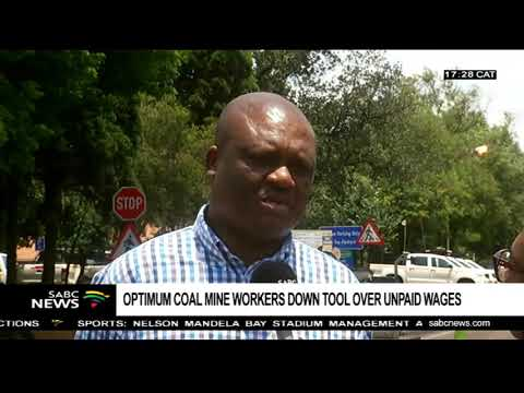Optimum Coal Mine Workers Demand Salaries