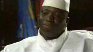 The President of Gambia claimed he has cure for AIDS