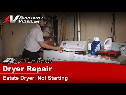 Whirlpool, Maytag & Roper Dryer Diagnostic & Repair - Not Starting, Door switch from YouTube · Duration:  6 minutes