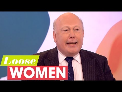 Julian Fellowes On The Downton Movie, Lady Edith And His Wife | Loose Women