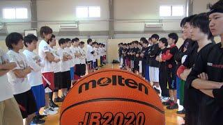 総勢50人でバスケットボールの試合をやってみた